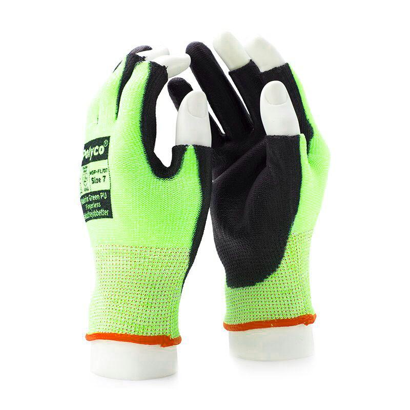 Polyco Matrix MGP-FL Men Fingerless Glove Cut Resistant Level 5