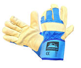 Himalayan H300 High Quality Grain Leather Premium Rigger Glove - 10 Pairs