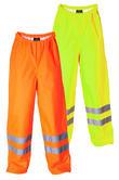 Proforce Hi Viz Class 1 Fully Waterproof Site Trousers