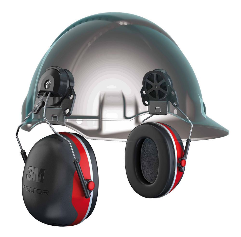 3M PELTOR X3P3 Helmet Mounted Earmuffs