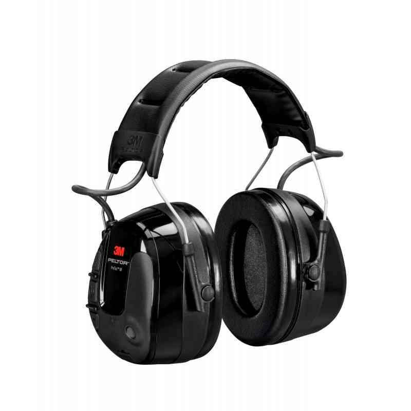 3M PELTOR ProTac III MT13H221A Headset, 32 dB Headband Black