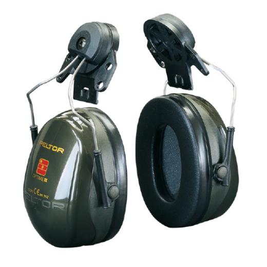 3m peltor optime ii h520p3g helmet mounted earmuffs. Black Bedroom Furniture Sets. Home Design Ideas