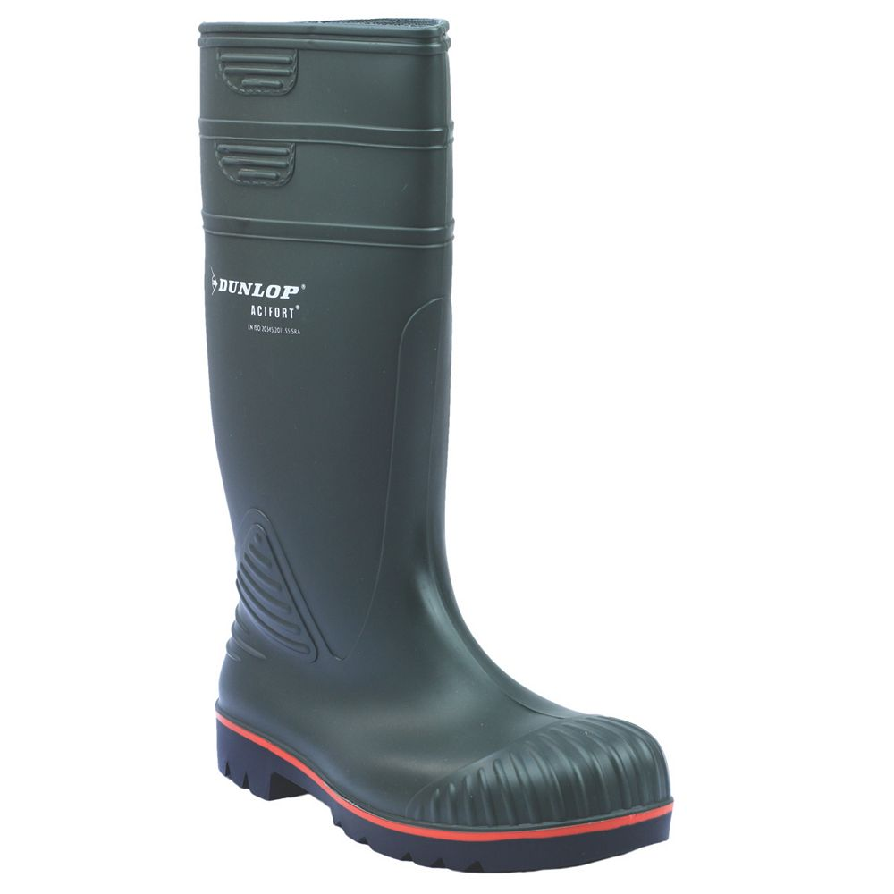 Dunlop B-Dri Acifort A442631 Heavy Duty Full Safety S5 Wellington