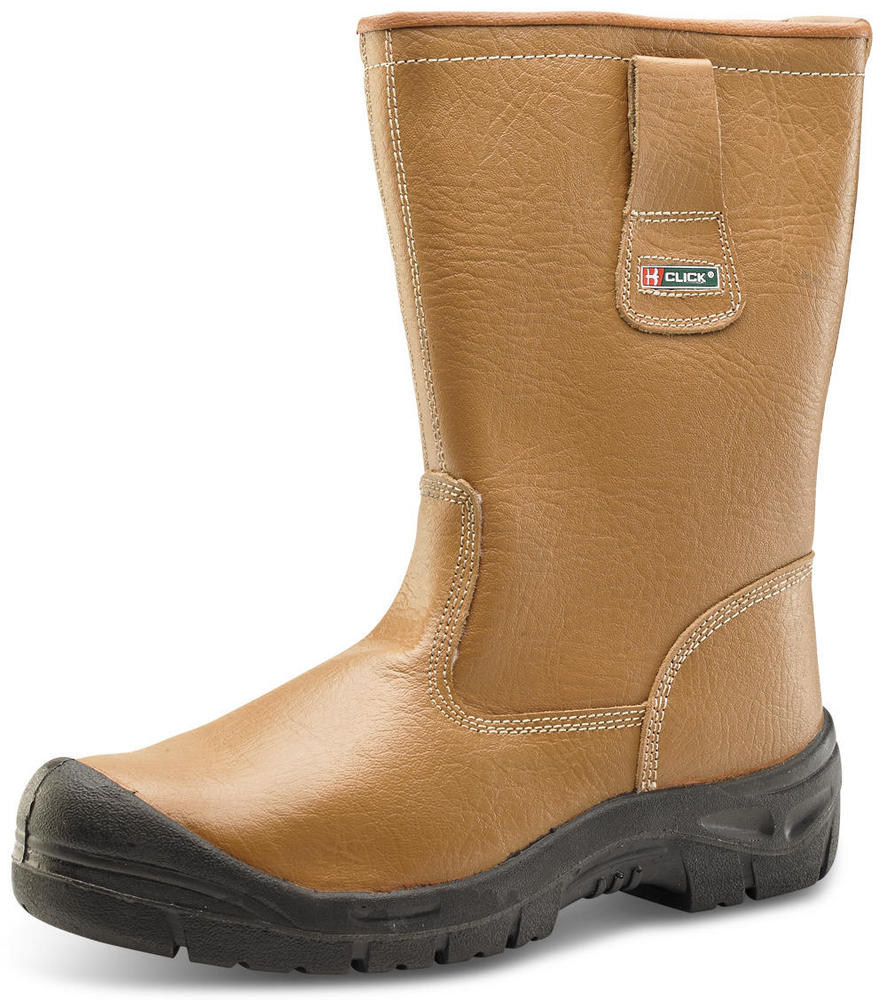 Beeswift Click RBLSSC Lined Leather Safety Rigger Boot