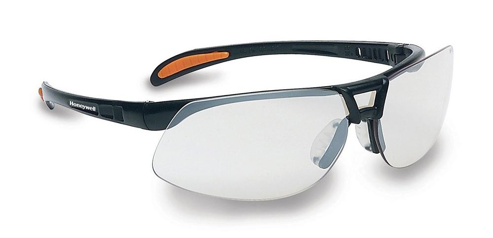 Honeywell 1015689 Protege Black Frame Spectacle Silver Mirror Lens