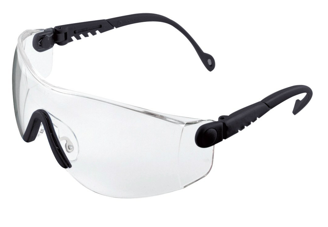 Honeywell 1000016 Op-Tema Safety Eyewear Frame with Clear Anti-Scratch Lens - Black e9PDmWcy