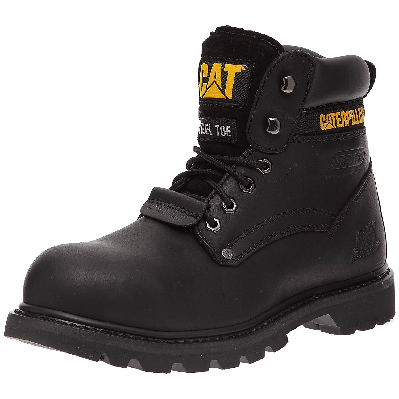 Cat Caterpillar Sheffield Ii Steel Toe Sb Black Safety Boots