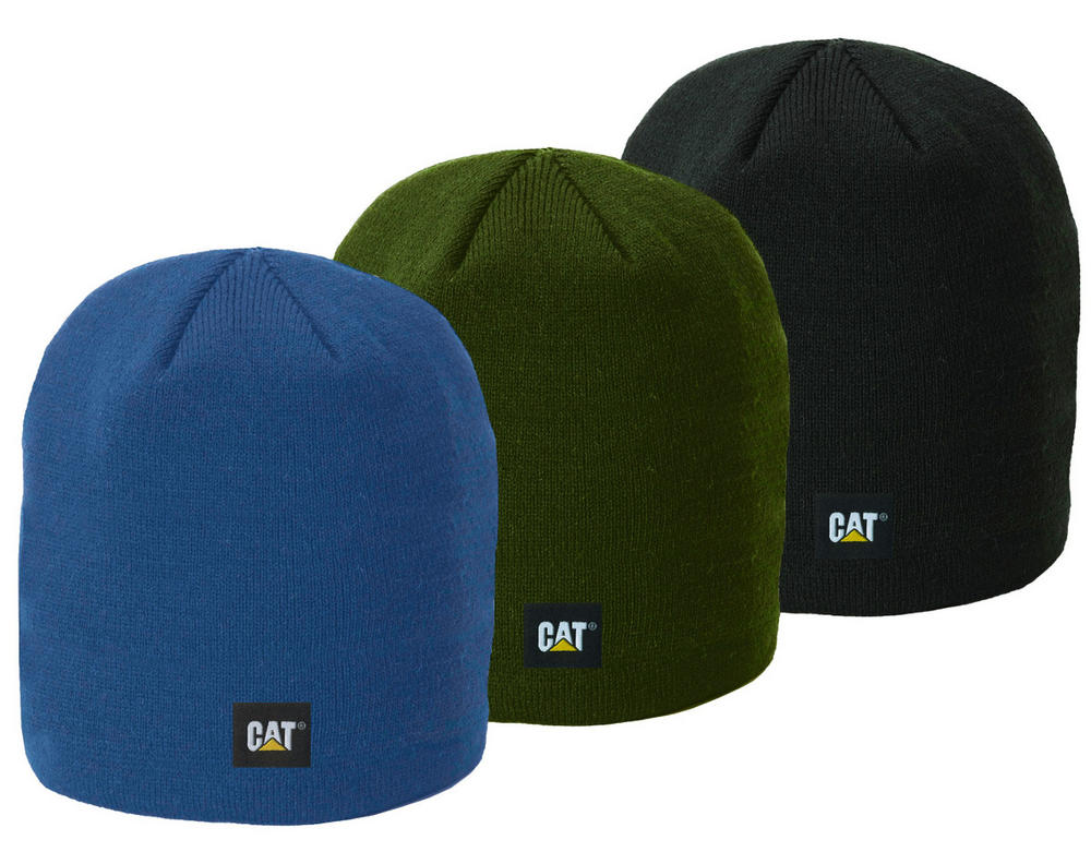Caterpillar C1120038 Logo Knit Cap Unisex