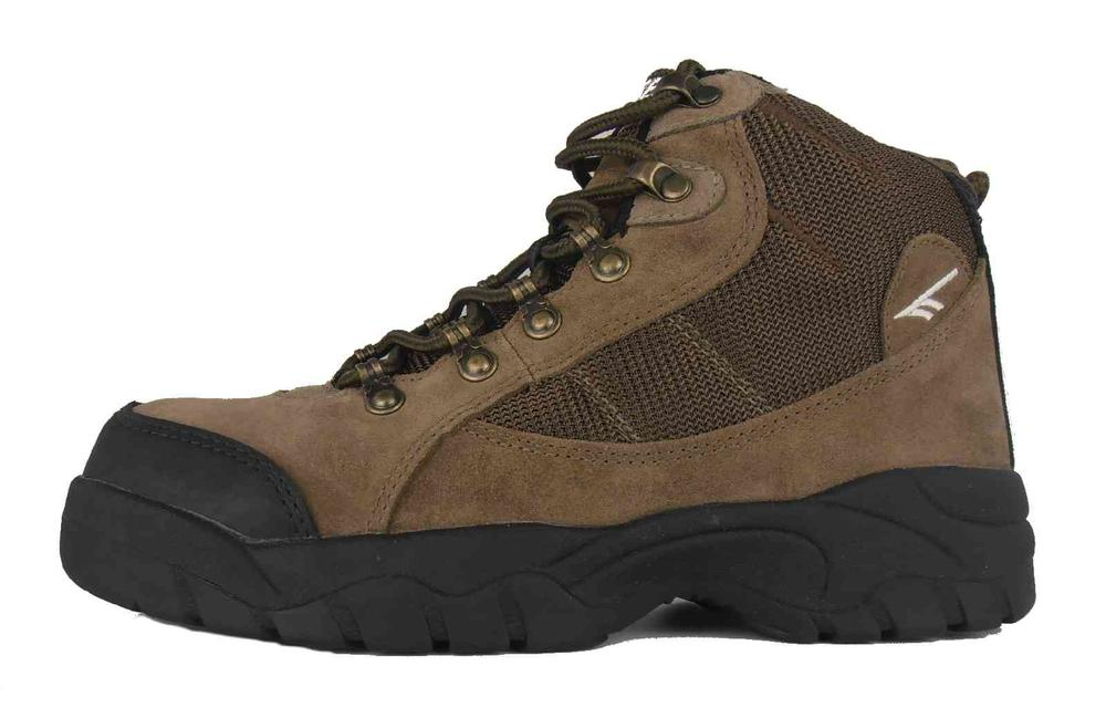 Hi-Tec Nebraska Safety Hiking Boots Brown