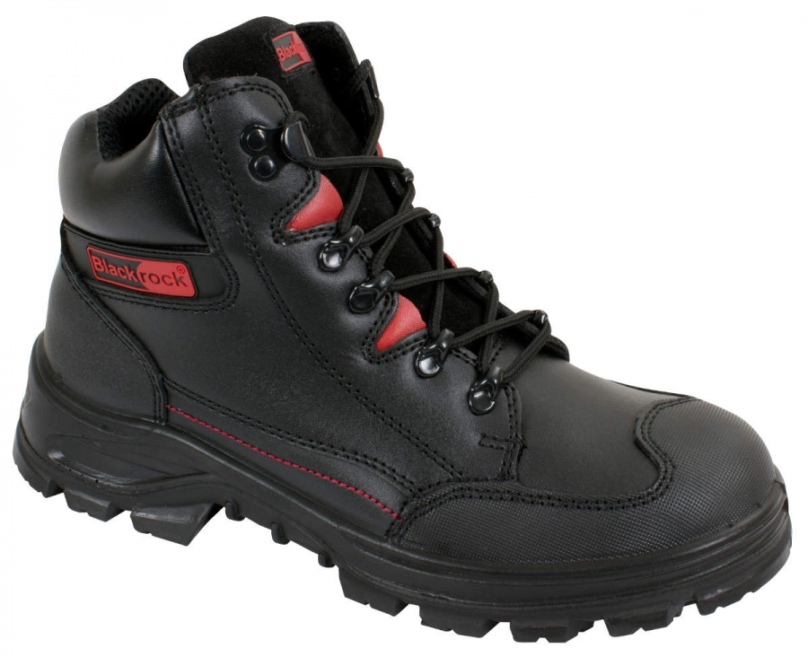Blackrock SF42 Panther SB-P Water Resistant Leather Safety Boots UK 7-12 Black