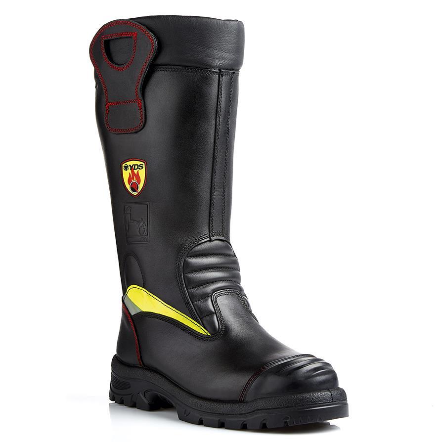Goliath NFSR1115 Poseidon Firemans CROSSTECH Firefighter Safety Boots Size - 9UK