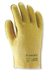 Ansell 20-105 Seams Rite Vinyl Coated Protective Gloves