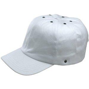 JSP Bump Cap Peak White Top Cap
