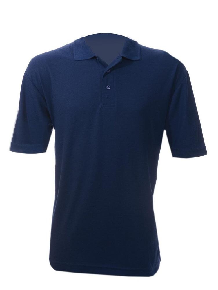 Orbit PS240 Polyester Cotton Pique 240gsm Ultar Navy Polo Shirt