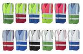 Leo Workwear W05 Dual Colour Reflective Waistcoat - Non ISO 20471