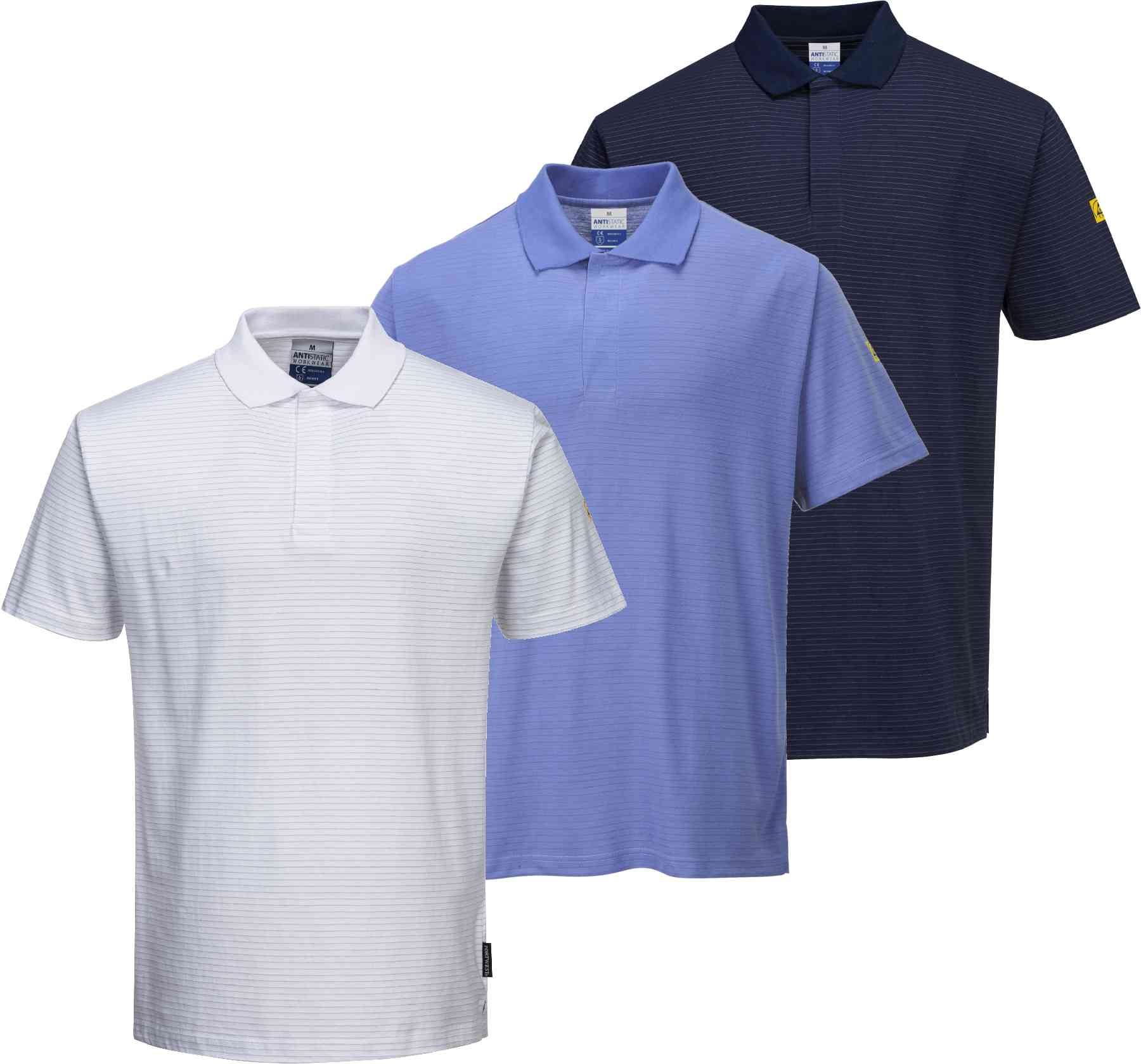 Portwest AS21 Men ESD Polo Shirt