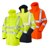 Leo Workwear Clovelly A04 Windproof Waterproof Breathable Executive Anorak