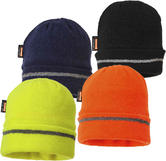 Portwest B023 Unisex Insulatex Line Knit Cap with Reflective Trim