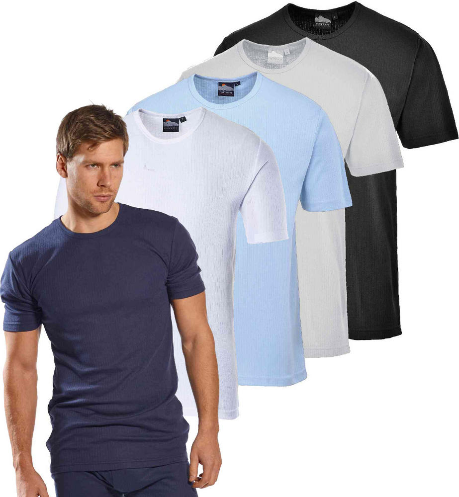 f2295890c3b7 Portwest B120 Men Thermal T-Shirt