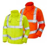 Leo Workwear Yeoford DJ01 Hi-Viz Class 3 Drivers Jacket