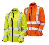 Leo Workwear Honeywell SJL01 Hi-Vis Ladies Softshell Jacket