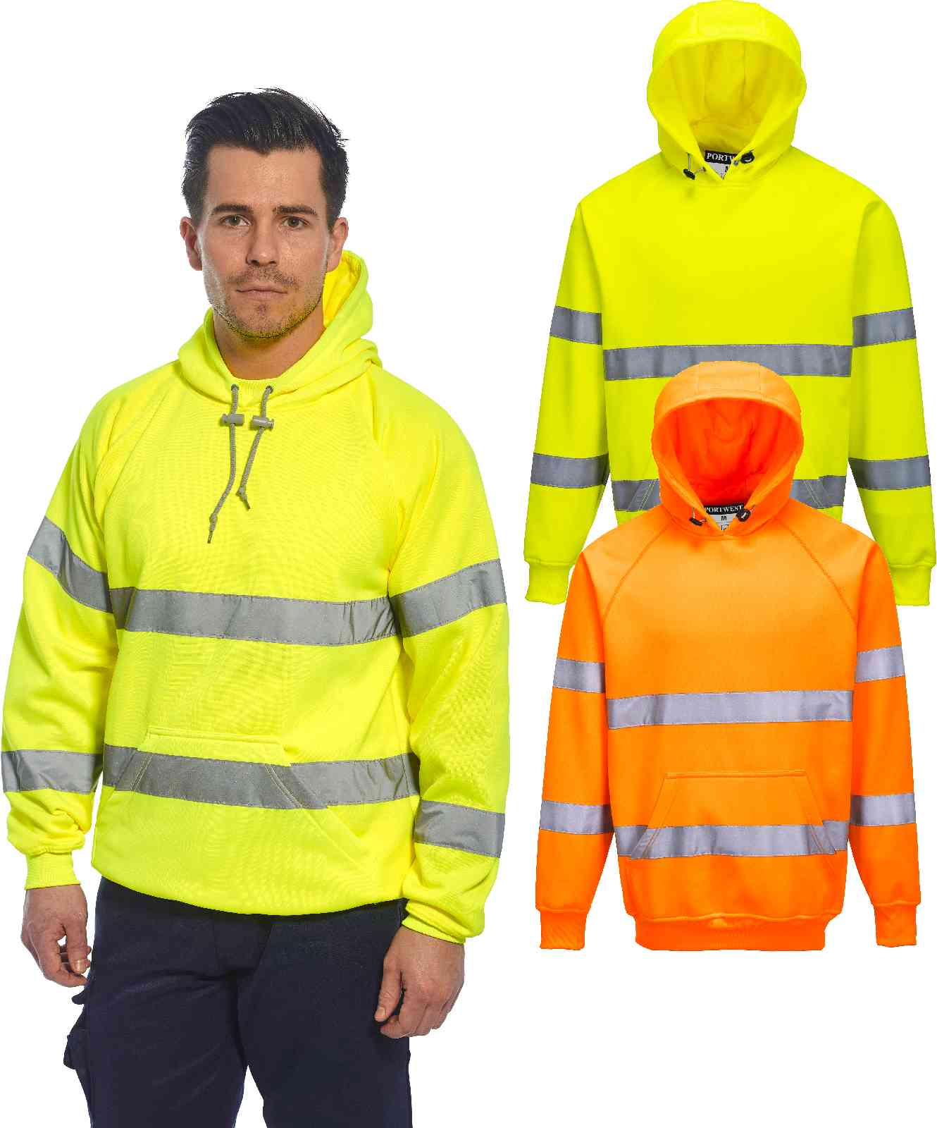 fall high visibility hoodies sale