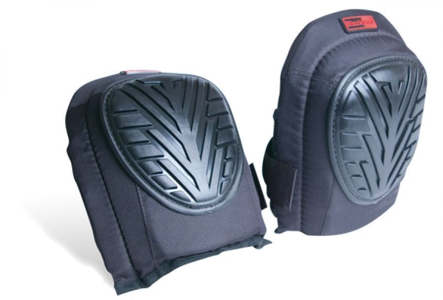 Blackrock Rodo 4400200 Gel Filled Premium Knee Pads Hard Turtleback Shell Black