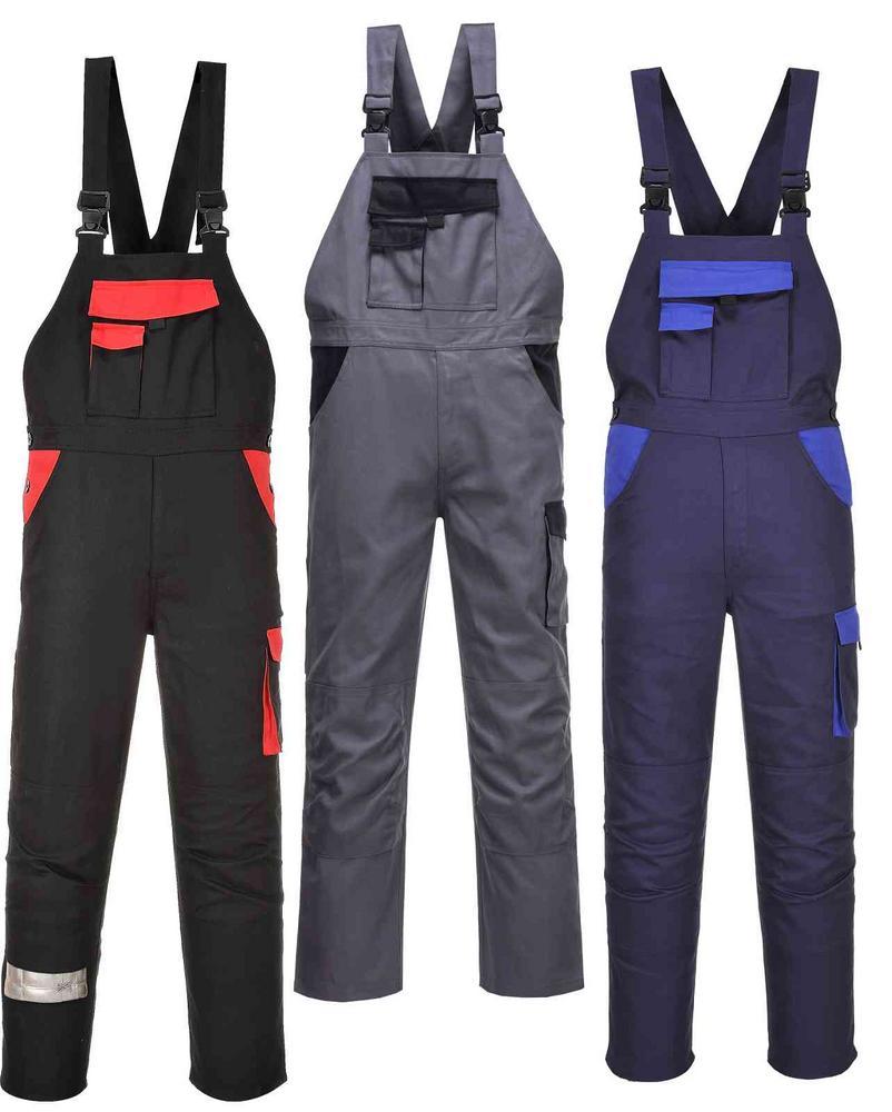 Warsaw Workwear Bib And Brace Dungarees Portwest
