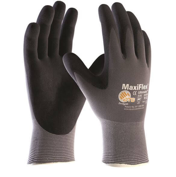 ATG MaxiFlex Ultimate Palm Coated 34-874 Gloves