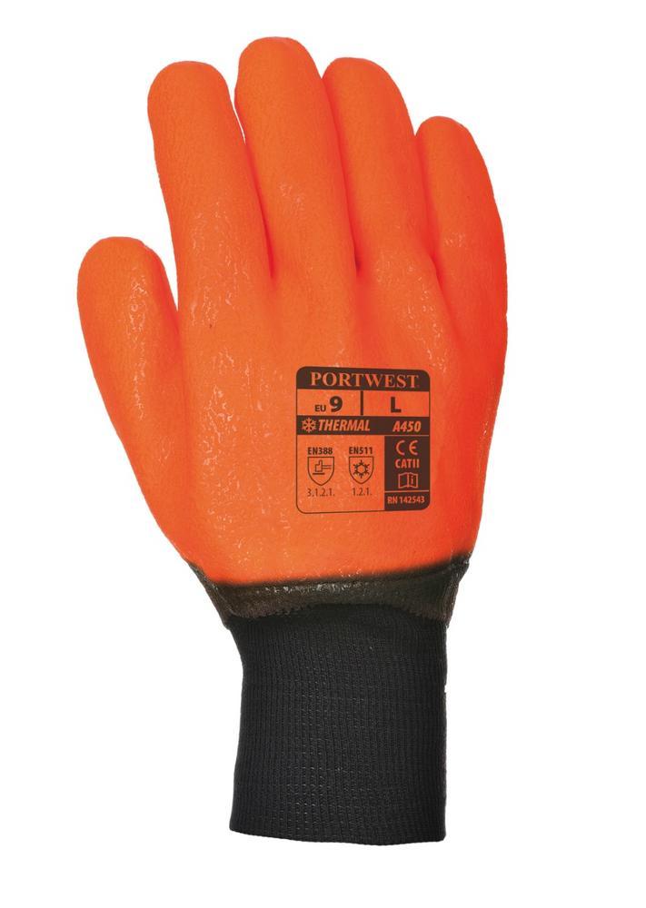 Portwest A450 Weatherproof Hi Vis Glove