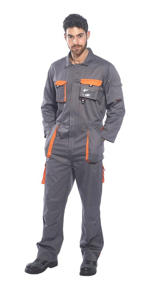 Portwest TX15 Texo black grey or navy contrast coverall small-3XL