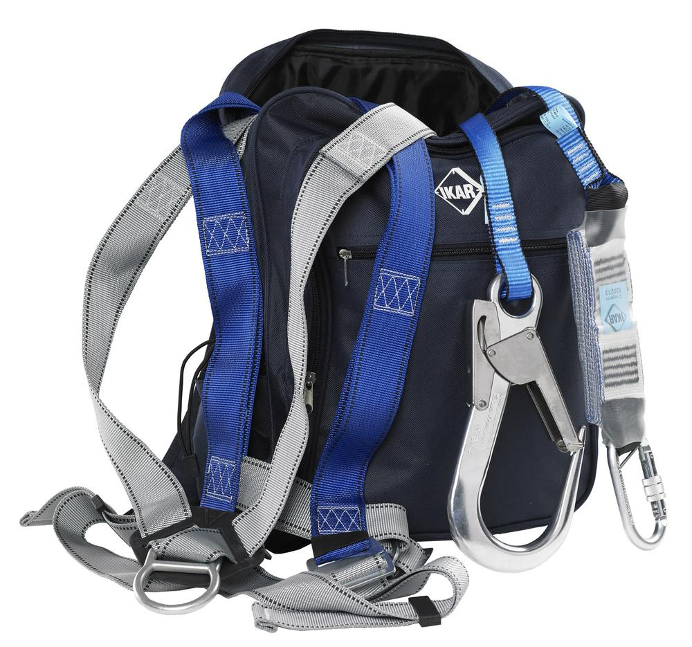 IKAR IKGBGKIT2 Harness, Lanyard & Bag Kit - For Scaffolders