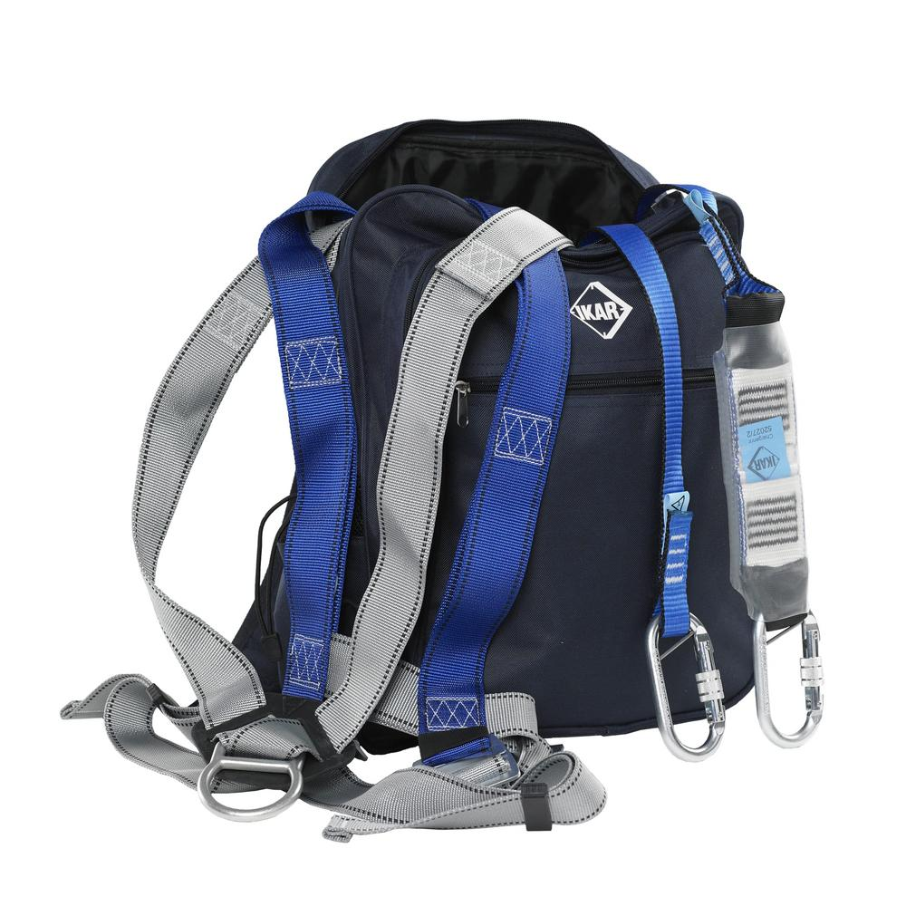 IKAR IKGBGKIT4 Harness, Lanyard & Bag Kit - For General Purpose