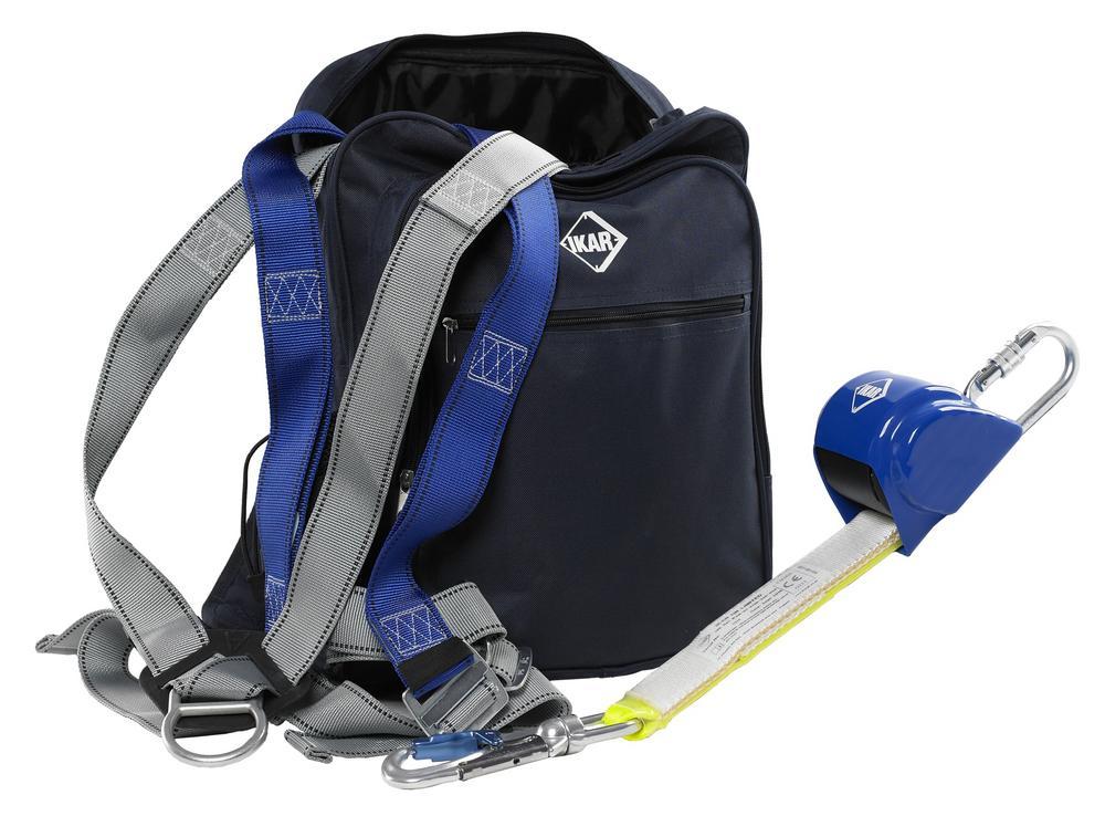 IKAR IKGBGKIT5 Harness, Lanyard & Bag Kit - For General Purpose
