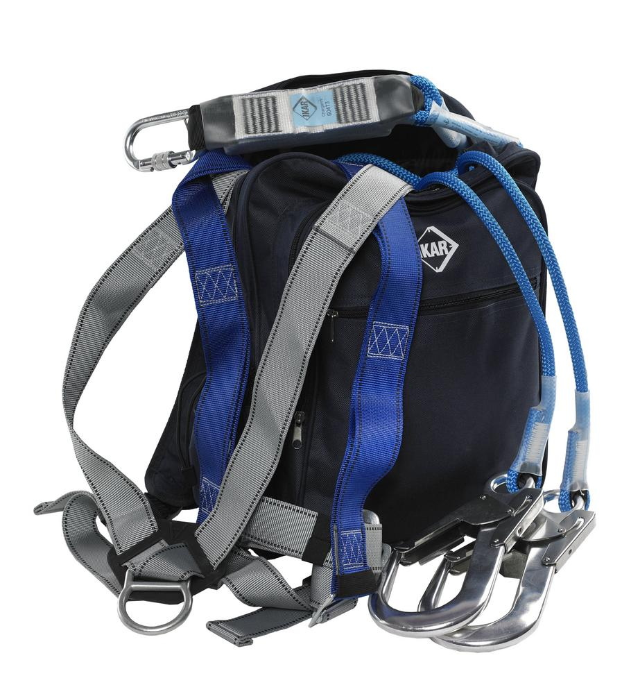 IKAR IKGBGKIT8 Harness, Lanyard & Bag Kit - For Climbers