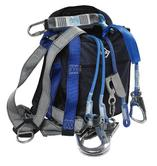 IKAR IKGBGKIT9 Harness, 2 Lanyards & Bag Kit - For Climbers
