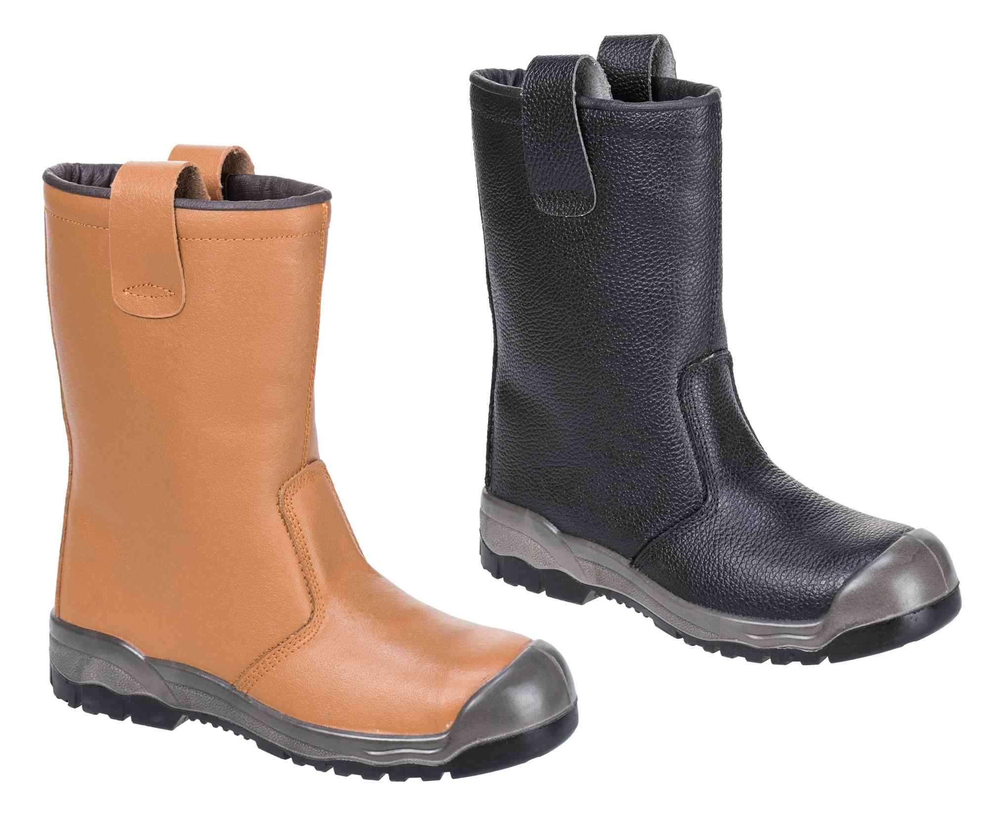 66e2a9ff8f3 Portwest FW13 Steelite Steel Toe Cap S1-P Fur Lined Safety Rigger Boots