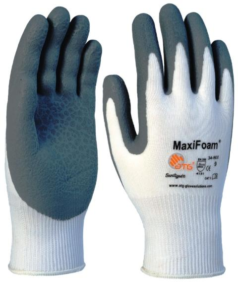ATG G-TEK 34-800 Maxi foam Nitrile Coated Glove (4.1.3.1)