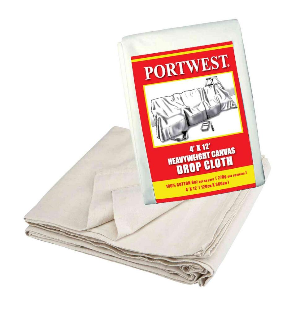 Portwest G412 Heavyweight Canvas Drop Cloth