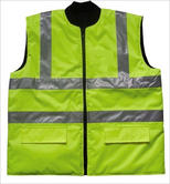 LIVERPOOL Reversible Bodywarmer Hi Viz Yellow