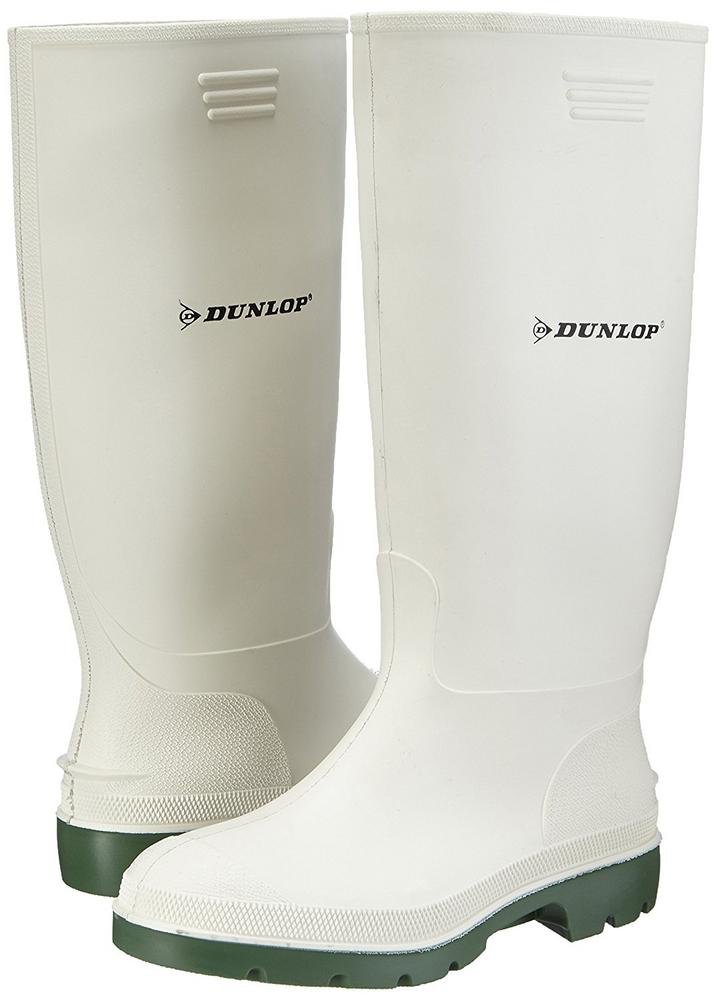 Dunlop 380BV Pricemastor PVC Food Industry White Wellington Boots