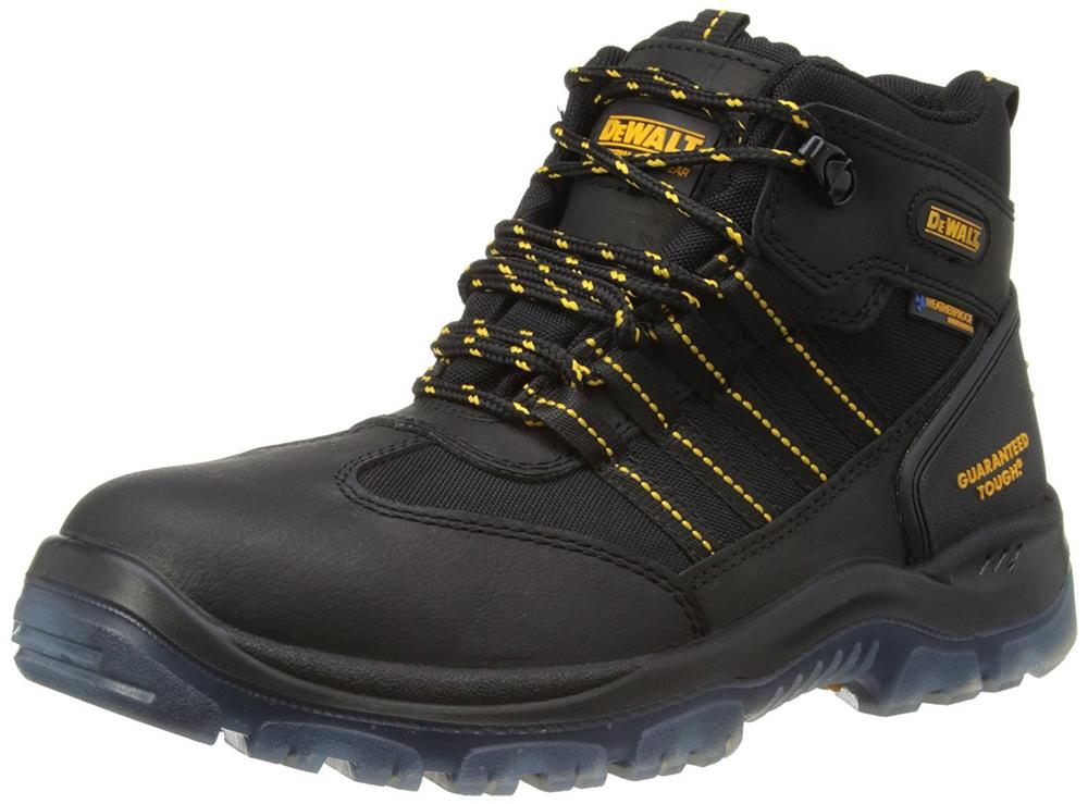 DEWALT Nickel S3 Black Safety Boots, Size UK 11
