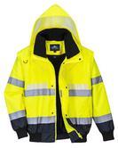 Portwest G465 Glowtex 3 in 1 Hi Vis Jacket Waterproof