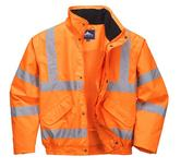 Portwest RT32 Hi Vis Bomber RIS Waterproof Jacket