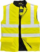 Portwest S499 Sealtex Ultra Hi Vis Waterproof PU Coated Rain Bodywarmer
