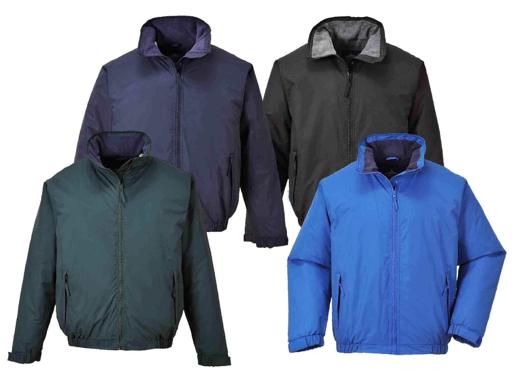 3d5287893 Portwest S538 Moray Lined Waterproof Outdoor Rain Bomber Jacket