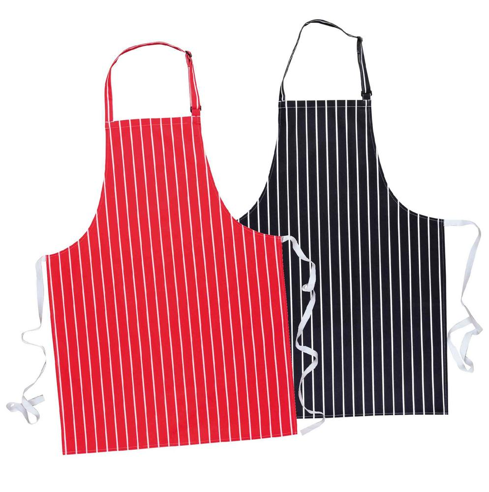 Portwest S839 Striped 100% Cotton Food Processing Butcher Apron