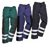 Portwest S918 Iona Ballistic Hi Vis Reflective Tapes Work Trousers