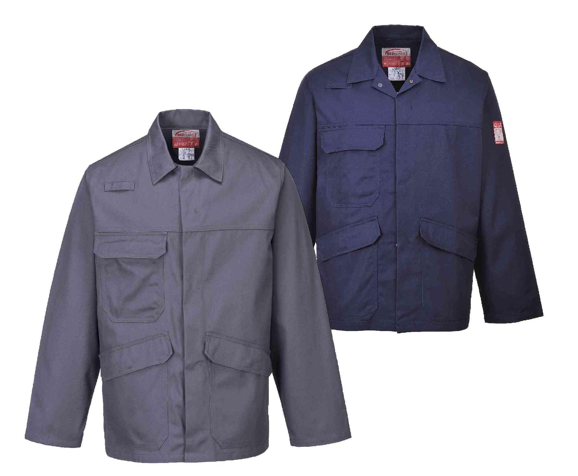 74b54320a1fc Portwest FR35 Bizflame Pro FR Flame Retardant Antistatic Dirver Jacket