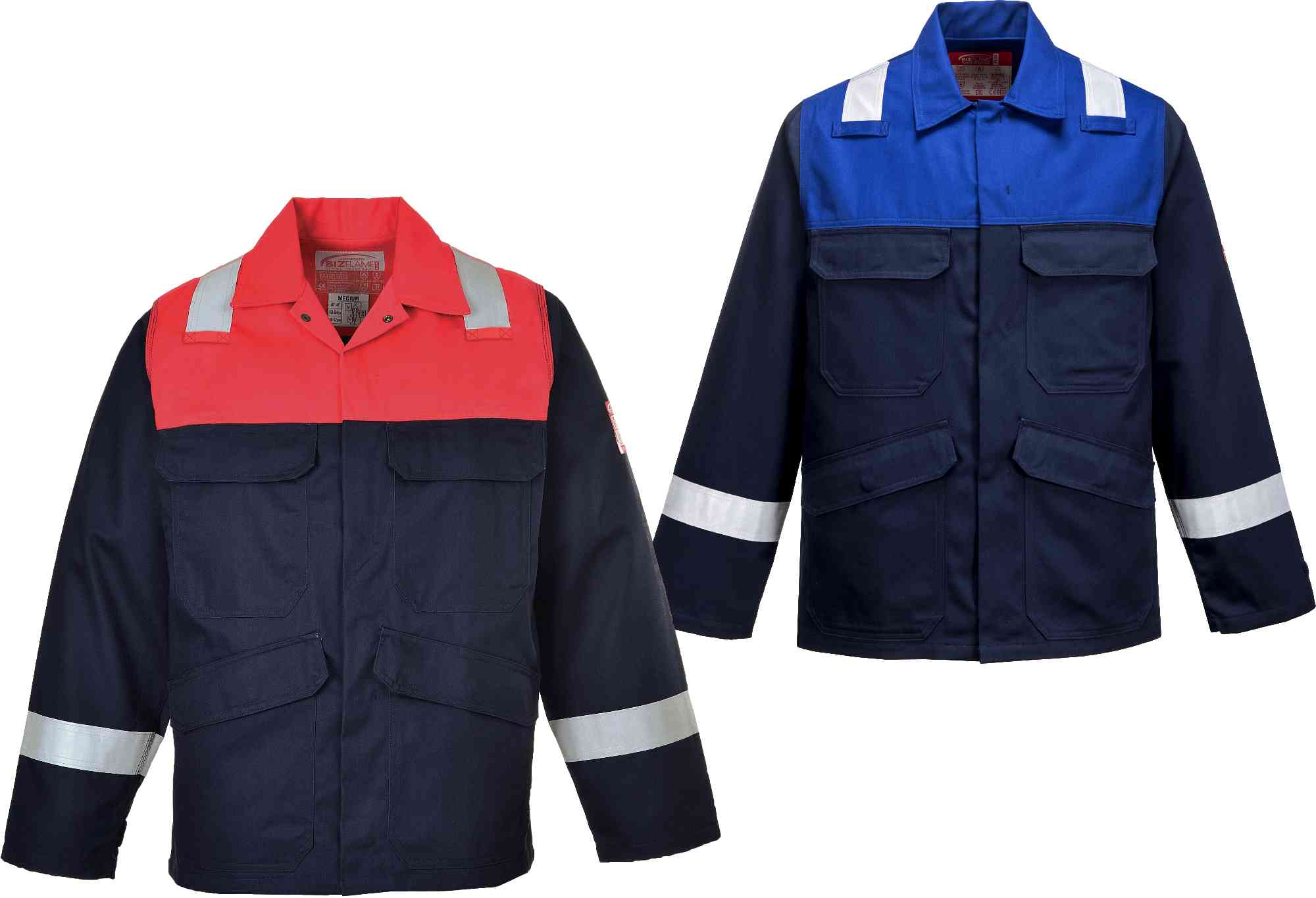 5aa8664649b9 Portwest FR55 FR Hi Vis Jacket
